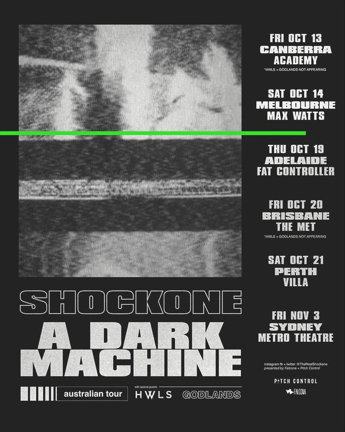 Shockone – A Dark Machine tour art 2