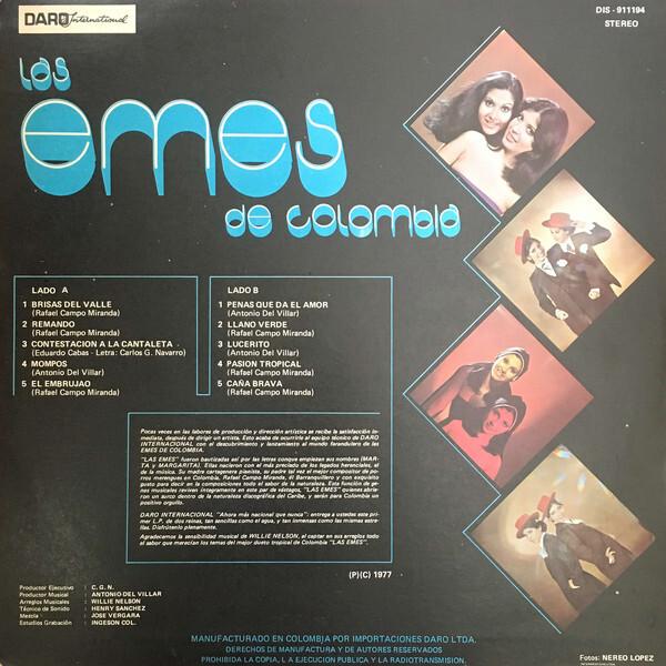 Las Emes – Las Emes De Colombia album art 2