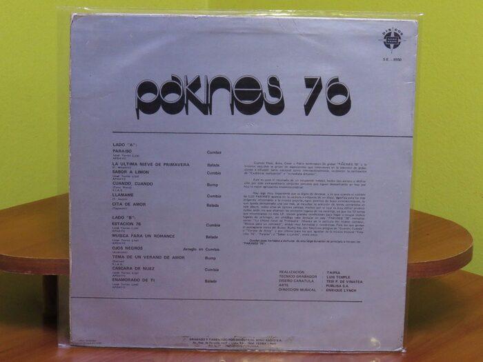 Los Pakines – Pakines 76 album art 2