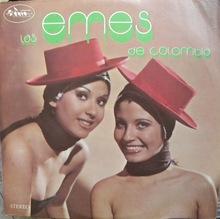 Las Emes – <cite>Las Emes De Colombia</cite> album art