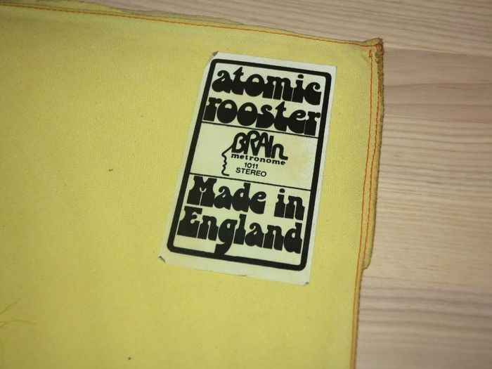 Atomic Rooster – Made In England album art 1