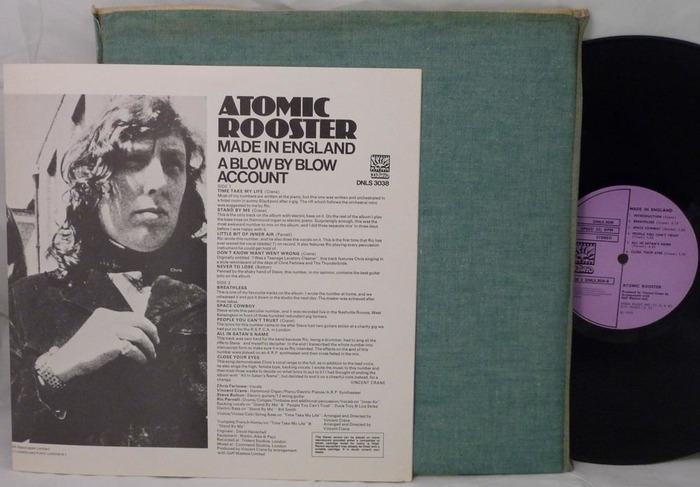 Atomic Rooster – Made In England album art 8