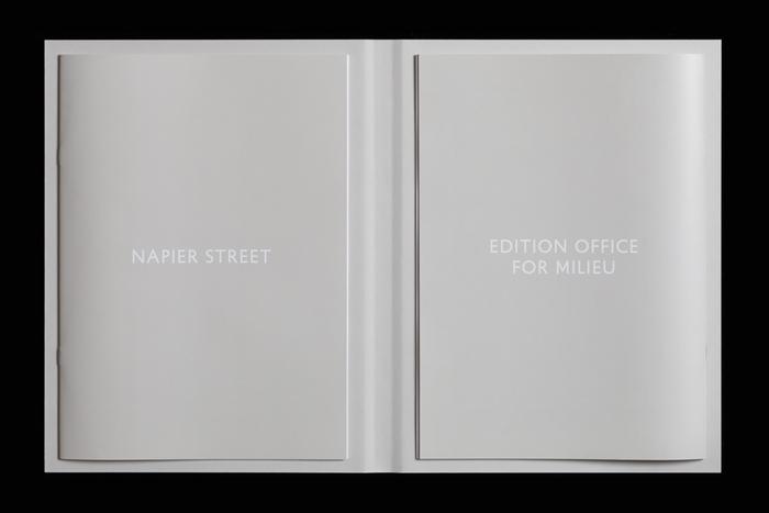 Napier Street, Edition Office for Milieu 2