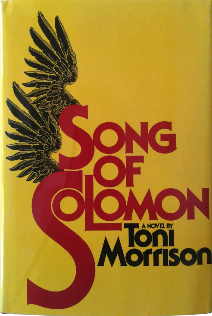 Song of Solomon by Toni Morrison (Alfred A. Knopf) 1