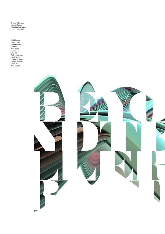 Beyond Tellerrand Düsseldorf 2019 posters 4