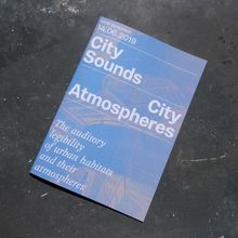 City Sounds, City Atmospheres