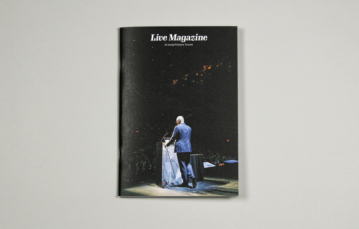 "Live Magazine No.1, ""At DesignThinkers Toronto"" 1"
