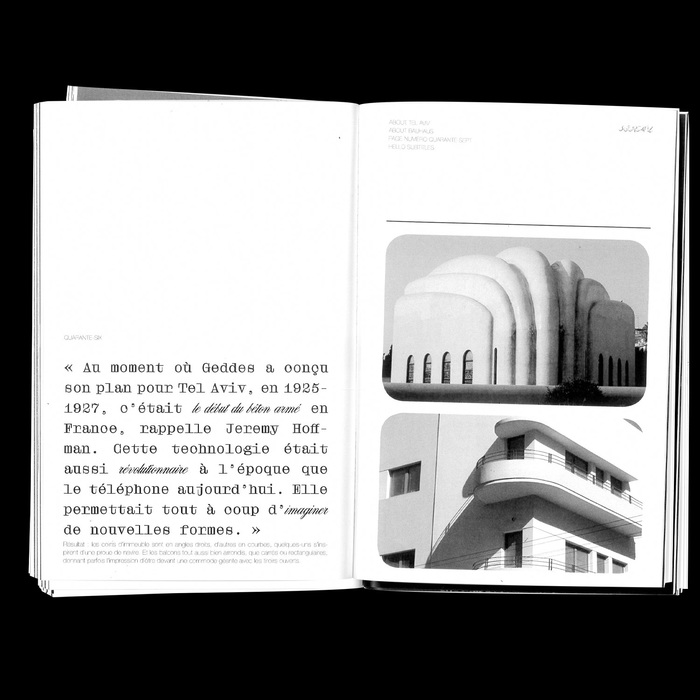 About Tel Aviv, About Bauhaus 13