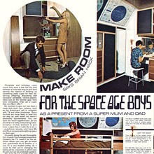 """Make Room for the Space Age Boys"", <cite>Practical Householder</cite>, Nov 1968"