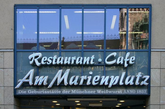 Restaurant · Cafe Am Marienplatz 1