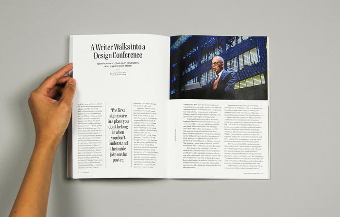 "Live Magazine No.1, ""At DesignThinkers Toronto"" 3"