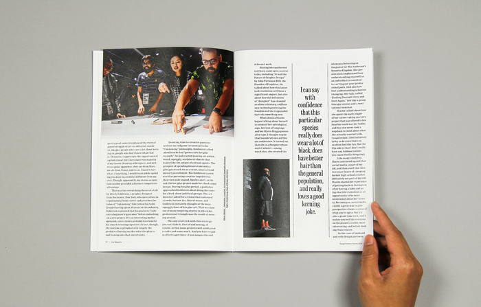 "Live Magazine No.1, ""At DesignThinkers Toronto"" 4"