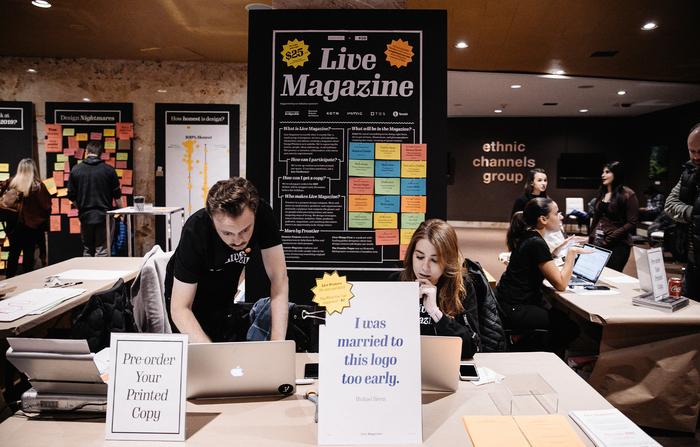 "Live Magazine No.1, ""At DesignThinkers Toronto"" 10"