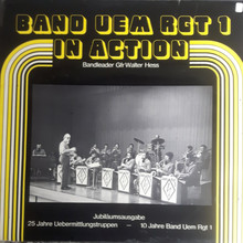 Band Uem Rgt 1 – <cite>In Action</cite> album art