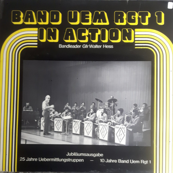 Band Uem Rgt 1 – In Action album art 1