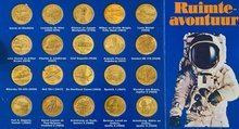 Aviation and space travel coin sets by Shell