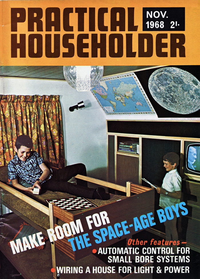 """Make Room for the Space Age Boys"", Practical Householder, Nov 1968 1"