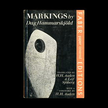 <cite>Markings</cite> by Dag Hammarskjöld (Faber)