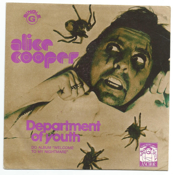"Alice Cooper – ""Department Of Youth"" Portuguese single cover 1"