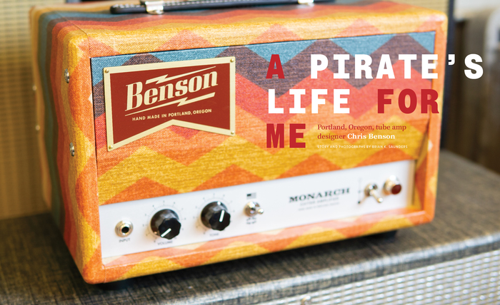 """""""A Pirate's Life For Me"""" comes in caps from Proto Grotesk Mono Bold."""