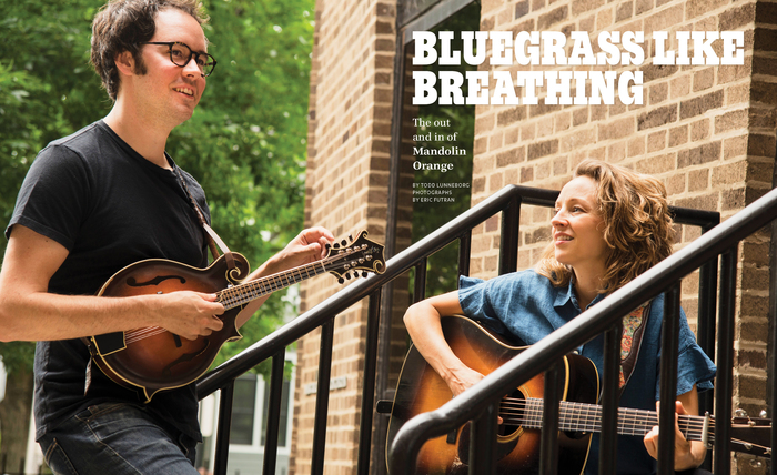 """Proto Slab Condensed Black in all caps for """"Bluegrass Like Breathing""""."""