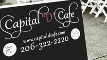 "Capital ""D"" Cafe, Seattle"