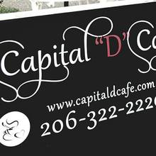 "Capital ""D"" Cafe, Seattle"