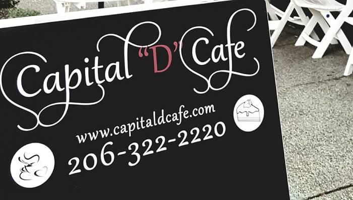 "Capital ""D"" Cafe, Seattle 1"