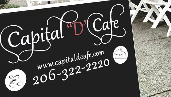 "Capital ""D"" Cafe, Seattle 1"