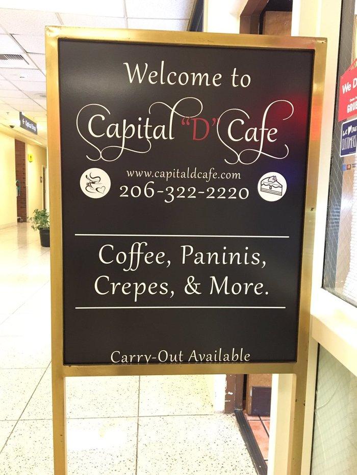 "Capital ""D"" Cafe, Seattle 3"
