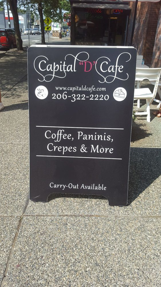 "Capital ""D"" Cafe, Seattle 2"
