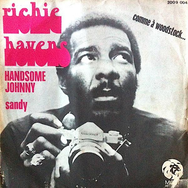 """Handsome Johnny"" / ""Sandy"" – Richie Havens 1"