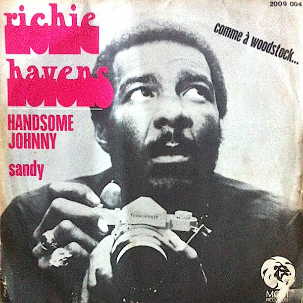 """Handsome Johnny"" / ""Sandy"" – Richie Havens 1"
