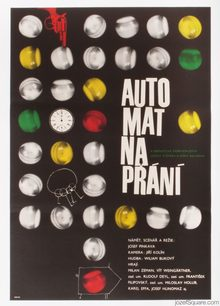 <cite>Automat na přání</cite> (The Wishing Machine) movie poster
