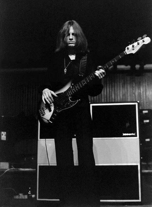 John Paul Jones of Led Zeppelin was one of the original company's biggest endorsers.