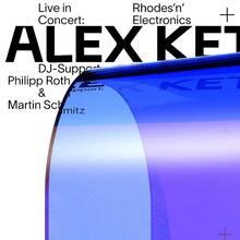 "Alex Ketzer: ""Rhodes'n'Electronics"" concert poster"