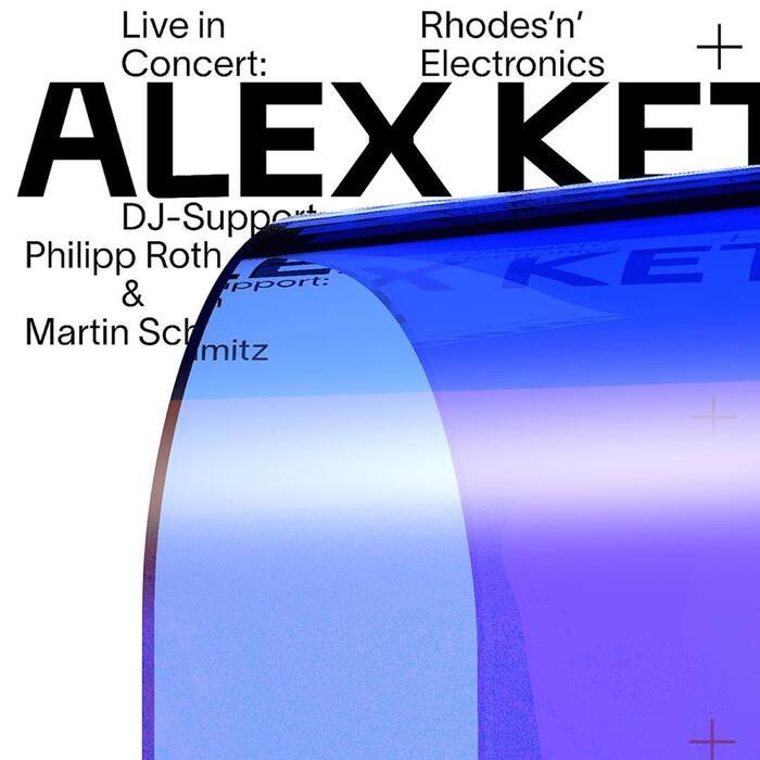 "Alex Ketzer: ""Rhodes'n'Electronics"" concert poster 2"