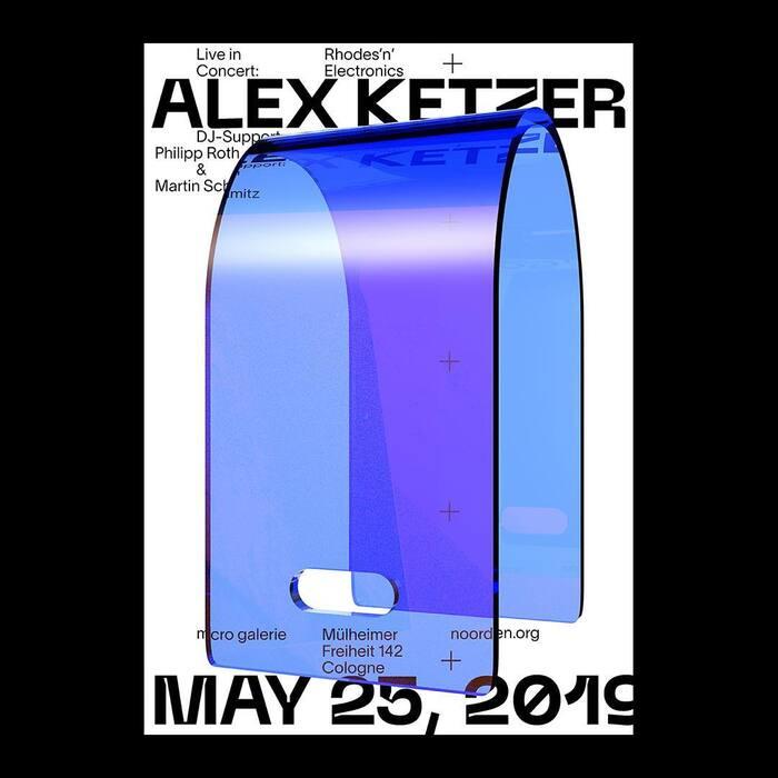 "Alex Ketzer: ""Rhodes'n'Electronics"" concert poster 1"
