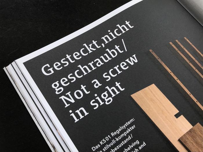 Janua Möbel product brochures 7