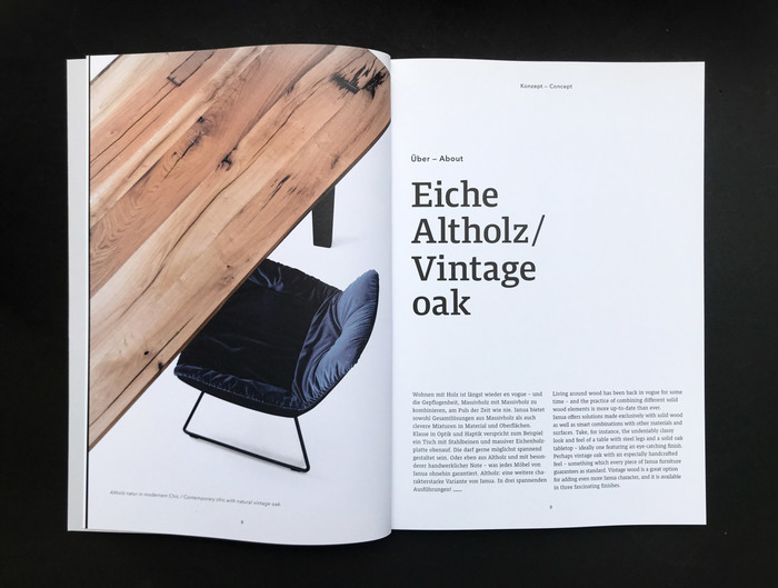 Janua Möbel product brochures 14