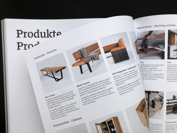 Janua Möbel product brochures 22