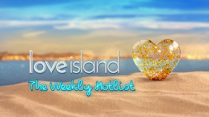 Love Island logo and merchandise 1
