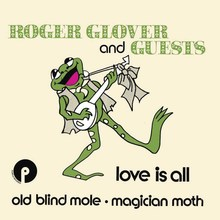 "Roger Glover and Guests – ""Love Is All"" Dutch single cover"