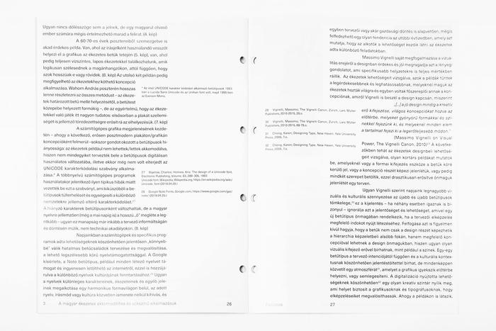Ékezetek (Diacritics) thesis 4