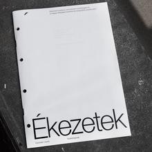 <cite>Ékezetek</cite> (Diacritics) thesis