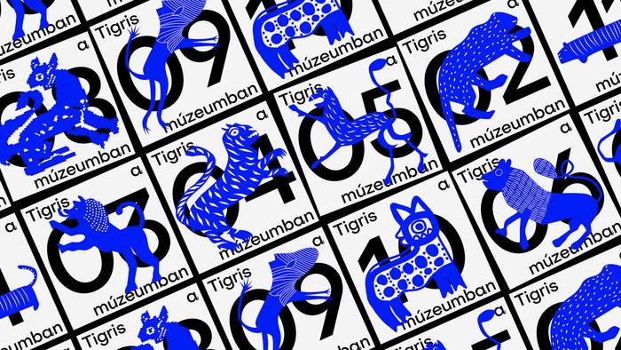 Tigris a múzeumban 1