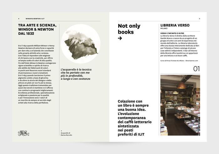 """ILIT 100"" – ILIT magazine special edition with Winsor & Newton 2"
