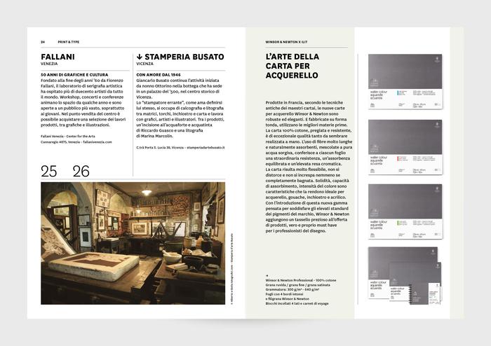 """ILIT 100"" – ILIT magazine special edition with Winsor & Newton 4"