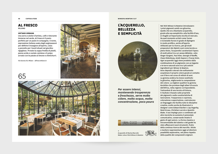 """ILIT 100"" – ILIT magazine special edition with Winsor & Newton 5"