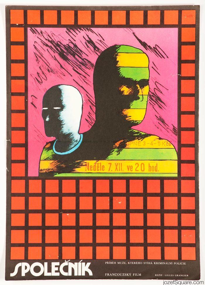 Společník (A Loser, original title: Un cave), France, 1972. Directed by Gilles Grangier. Featuring Claude Brasseur, Marthe Keller, André Weber.